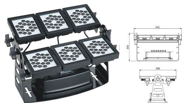 Led drita dmx,Drita e rondele e dritës LED,Përmbytje 220W Square LED lisht 1, LWW-9-108P, KARNAR INTERNATIONAL GROUP LTD