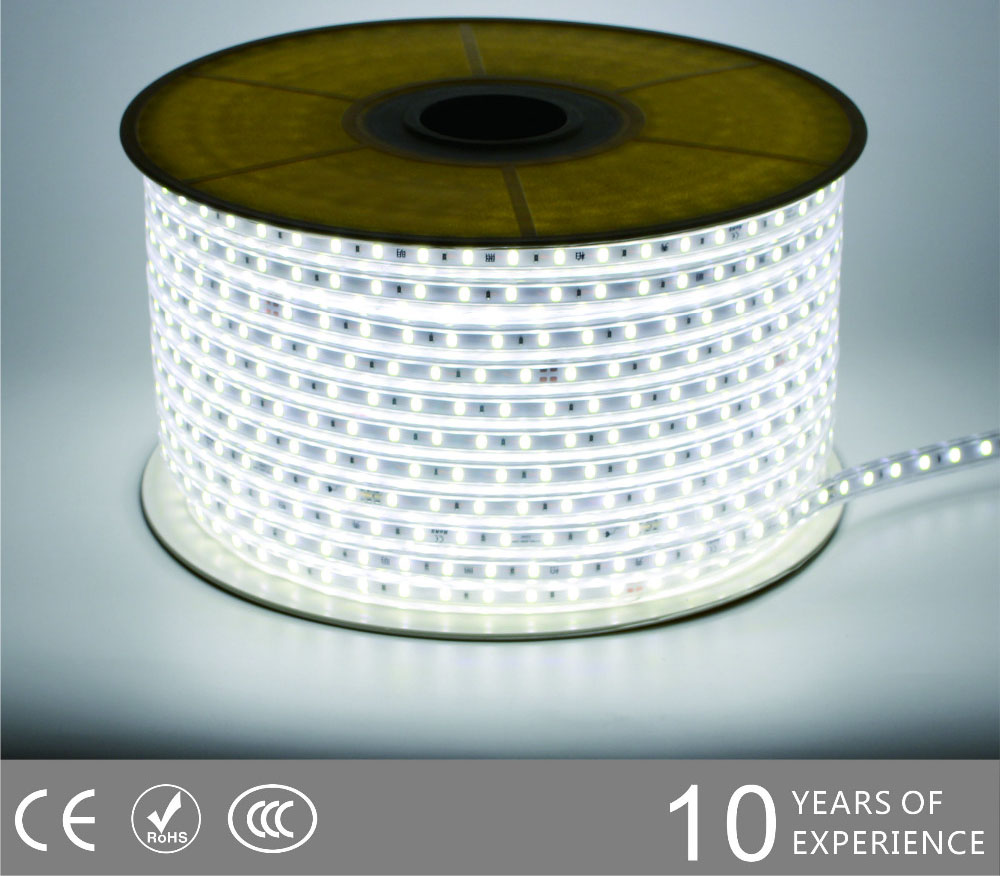 Led drita dmx,rrip fleksibël,240V AC Jo Wire SMD 5730 udhëhequr dritë strip 2, 5730-smd-Nonwire-Led-Light-Strip-6500k, KARNAR INTERNATIONAL GROUP LTD